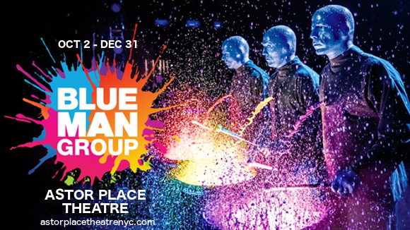blue man group astor place theatre