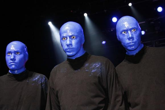 Blue Man Group at Astor Place Theatre